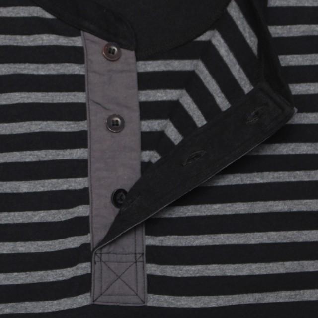 COLIMBO/コリンボ FAIRBANKS HENRY S/S ヘンリーT グレー×ブラック|morleyclothing|04