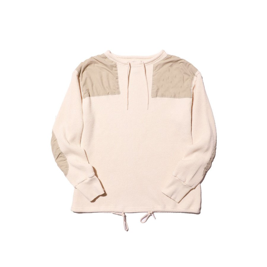 COLIMBO/コリンボ DUNE-CHURCH COBAT WAFFLE SHIRT (PLAIN TYPE) Snow|morleyclothing