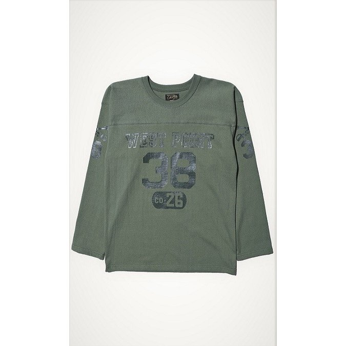 """COLIMBO/コリンボ FOOTBALL TEE """"West Point 38"""" Forest Green morleyclothing"""