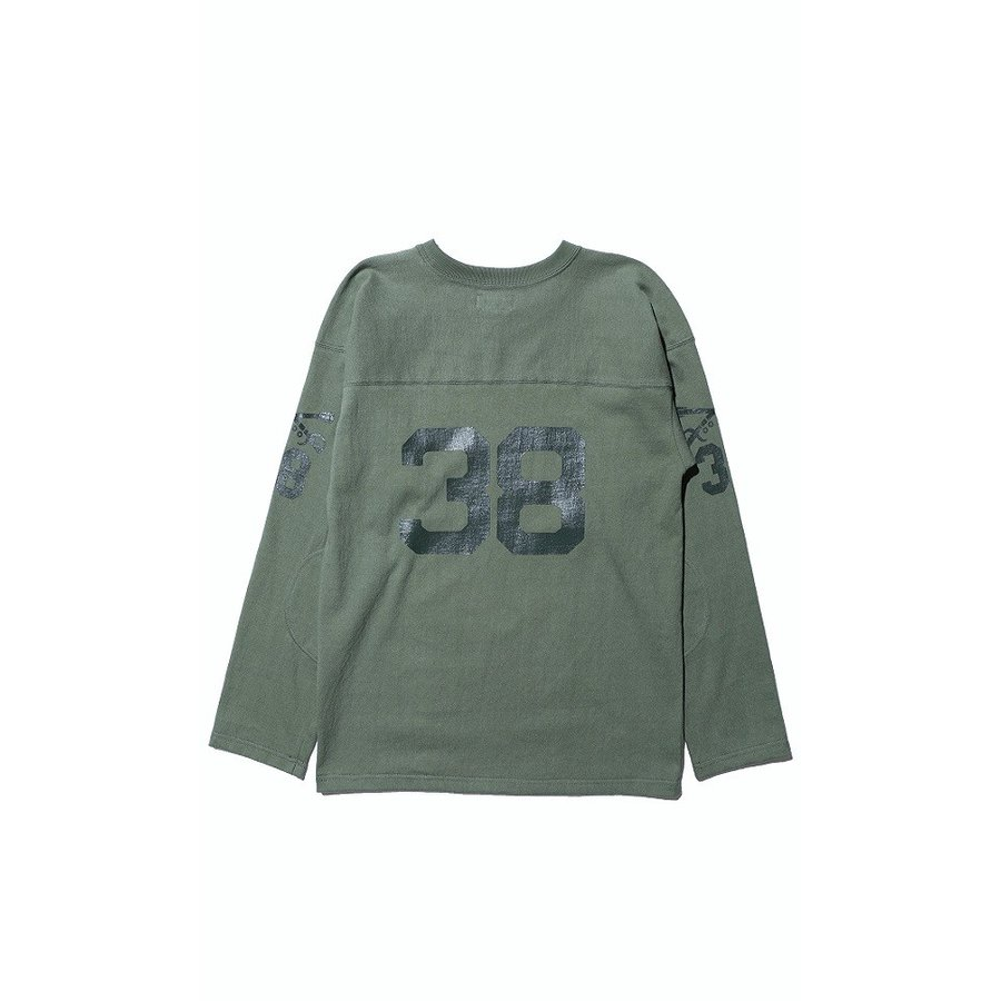 """COLIMBO/コリンボ FOOTBALL TEE """"West Point 38"""" Forest Green morleyclothing 02"""