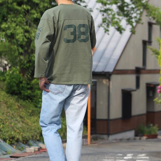 """COLIMBO/コリンボ FOOTBALL TEE """"West Point 38"""" Forest Green morleyclothing 07"""