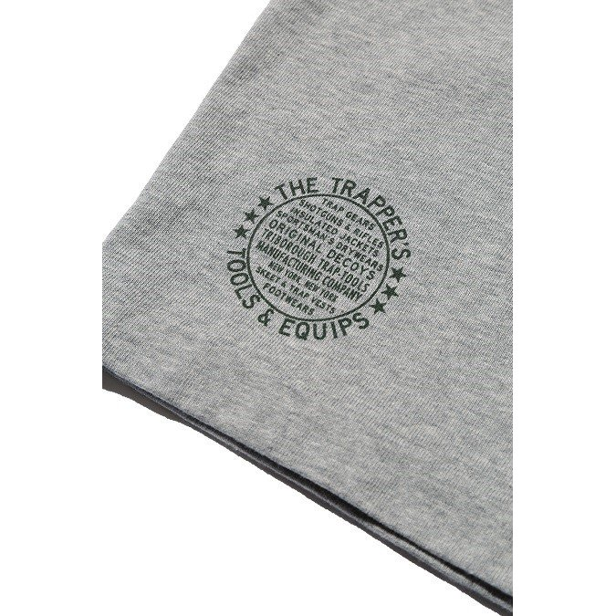 COLIMBO/コリンボ SILVER POINT HENLEY NECK TEE Moku Gray|morleyclothing|06