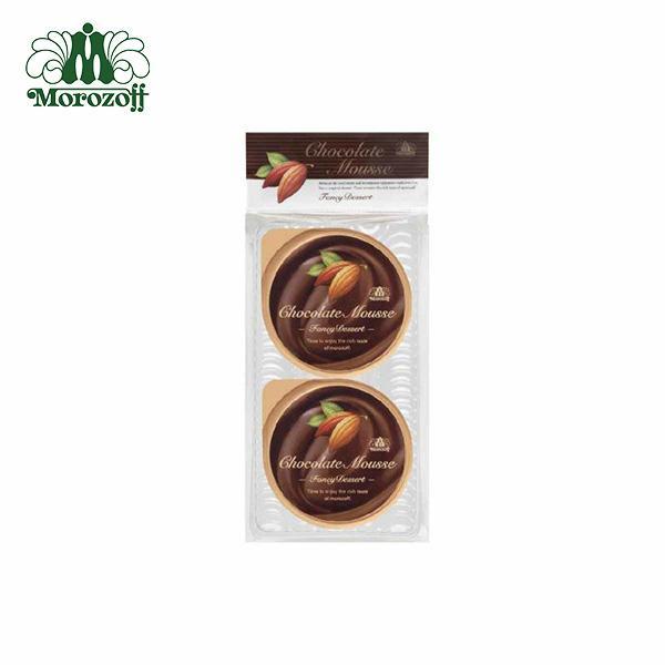 モロゾフ ファンシーデザート(チョコレートムース) 2個入