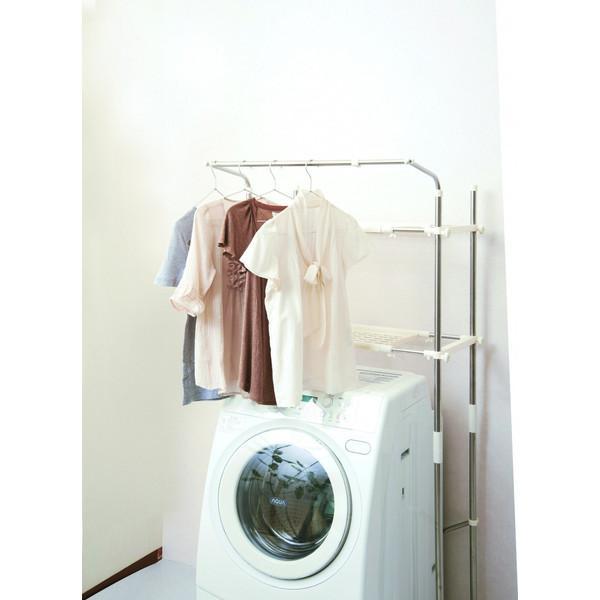 ステンレス洗濯機ラック SSR-40 セキスイ ランドリー収納 mos-mart 04