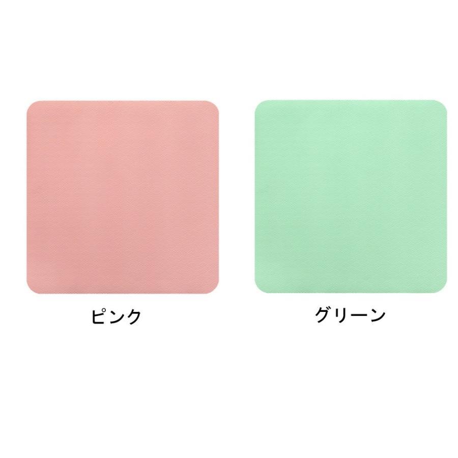 お風呂 洗い場 マット サンコー カット可能 滑り止め クッション性 ズレにくい ピンク グリーン|mos-mart|02