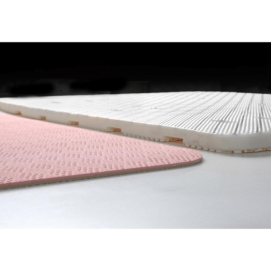お風呂 洗い場 マット サンコー カット可能 滑り止め クッション性 ズレにくい ピンク グリーン|mos-mart|15