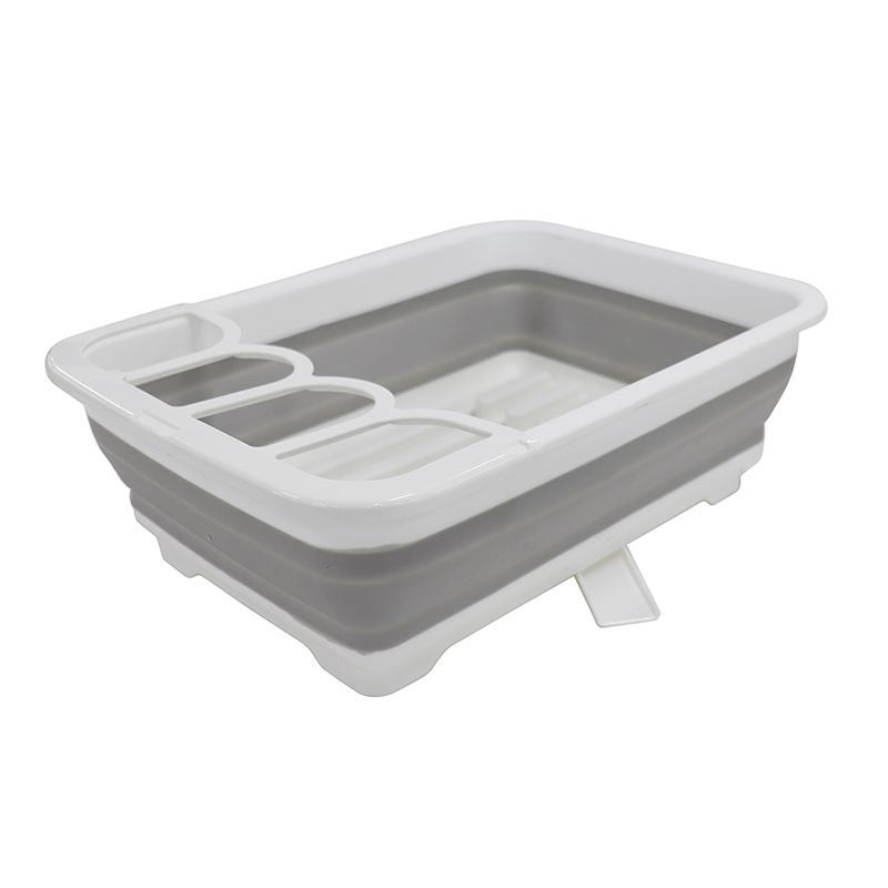 デイズ 折り畳み水切りバスケット&折り畳み洗い桶 キッチン計2点セット タマハシ 水まわり シンプル コンパクト シンク DAYS mos-mart 03