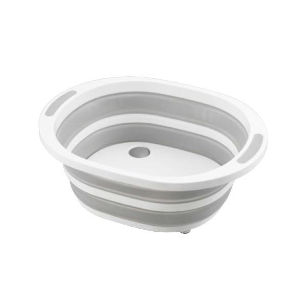 デイズ 折り畳み水切りバスケット&折り畳み洗い桶 キッチン計2点セット タマハシ 水まわり シンプル コンパクト シンク DAYS mos-mart 09