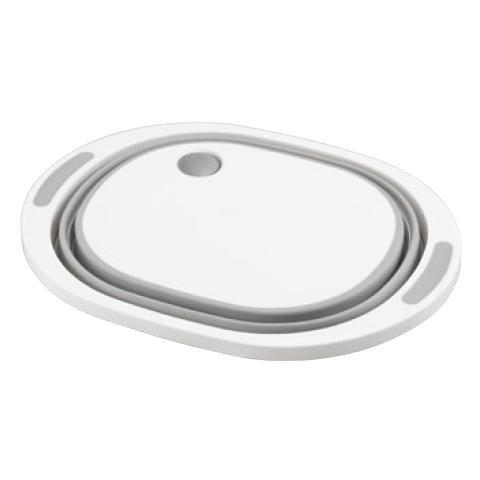 デイズ 折り畳み水切りバスケット&折り畳み洗い桶 キッチン計2点セット タマハシ 水まわり シンプル コンパクト シンク DAYS mos-mart 10