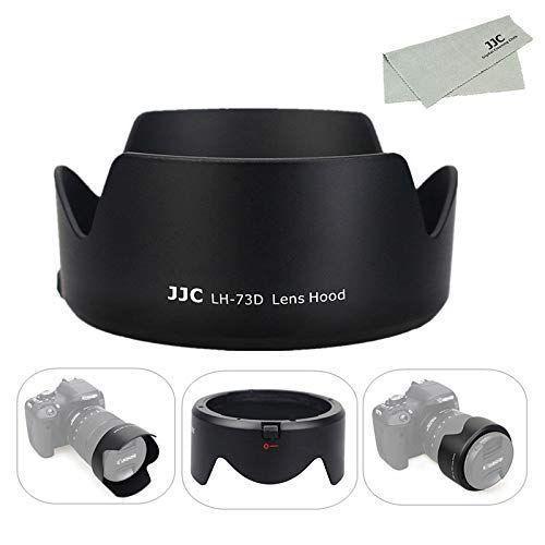 JJC 可逆式 レンズフード 年中無休 Canon 定番スタイル RF 24-105mm F4-7.1 EF-S amp; STM F3.5-5. 18-135mm IS