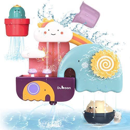 GILOBABY お風呂 おもちゃ 人気の定番 水遊び玩具 シャワーカップ かわいい形 驚きの値段 強力な吸盤付き 噴水おもちゃ 男の子 安全素材