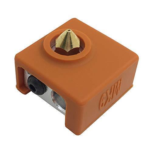 4個の3Dプリンターソックス互換性のあるMK7 MK8 MK9 Makerbotヒーターブロック、AFUNTA 3Dプリンター押出機用の耐熱シ|moshoten|03