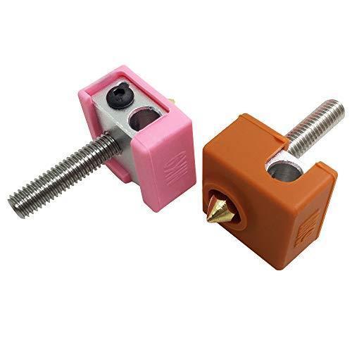 4個の3Dプリンターソックス互換性のあるMK7 MK8 MK9 Makerbotヒーターブロック、AFUNTA 3Dプリンター押出機用の耐熱シ|moshoten|05