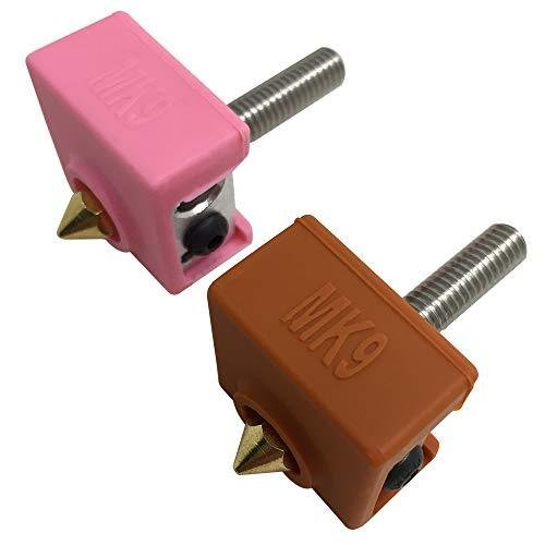 4個の3Dプリンターソックス互換性のあるMK7 MK8 MK9 Makerbotヒーターブロック、AFUNTA 3Dプリンター押出機用の耐熱シ|moshoten|07