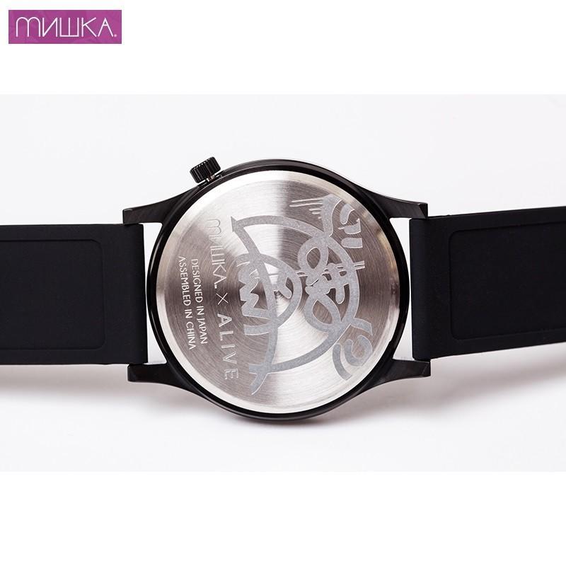 MISHKA x ALIVE: KEEP WATCH ミシカ 腕時計 BLACK moshpunx 03