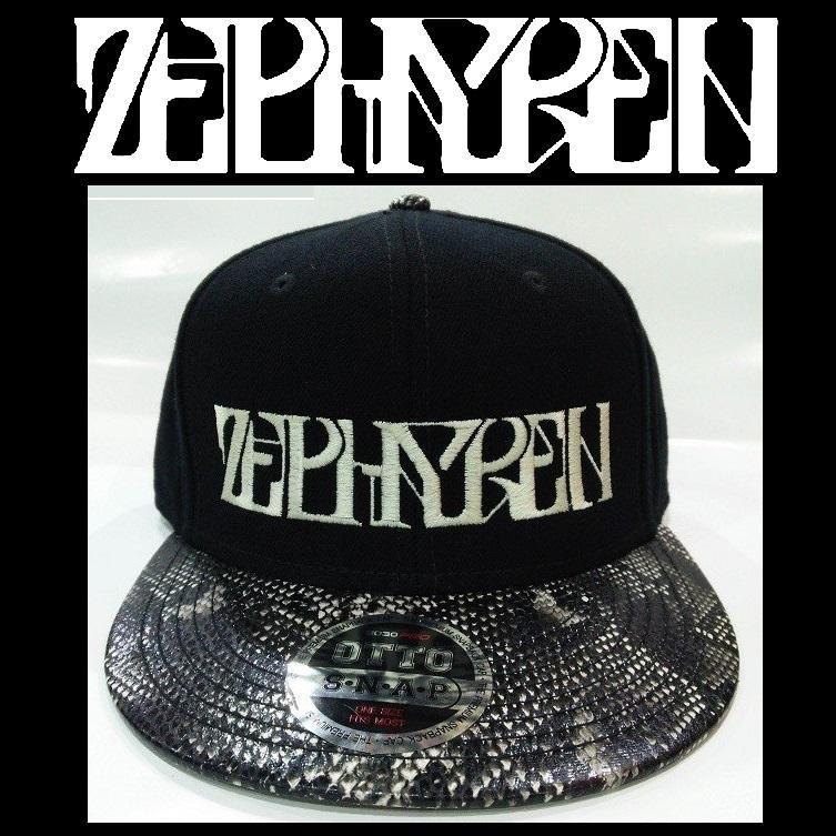 ZEPHYREN B.B CAP VISIONARY BLACK SNAKE ゼファレン キャップ|moshpunx