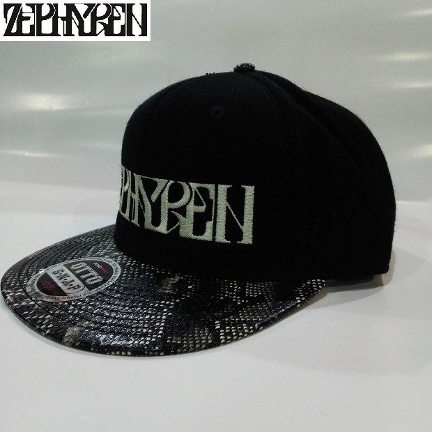 ZEPHYREN B.B CAP VISIONARY BLACK SNAKE ゼファレン キャップ|moshpunx|02