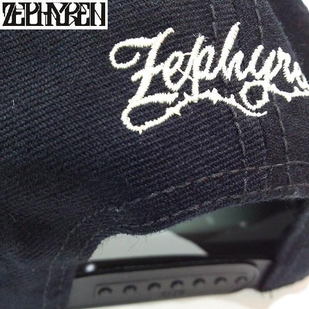 ZEPHYREN B.B CAP VISIONARY BLACK SNAKE ゼファレン キャップ|moshpunx|05