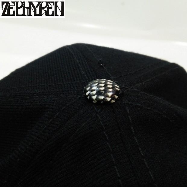 ZEPHYREN B.B CAP VISIONARY BLACK SNAKE ゼファレン キャップ|moshpunx|06