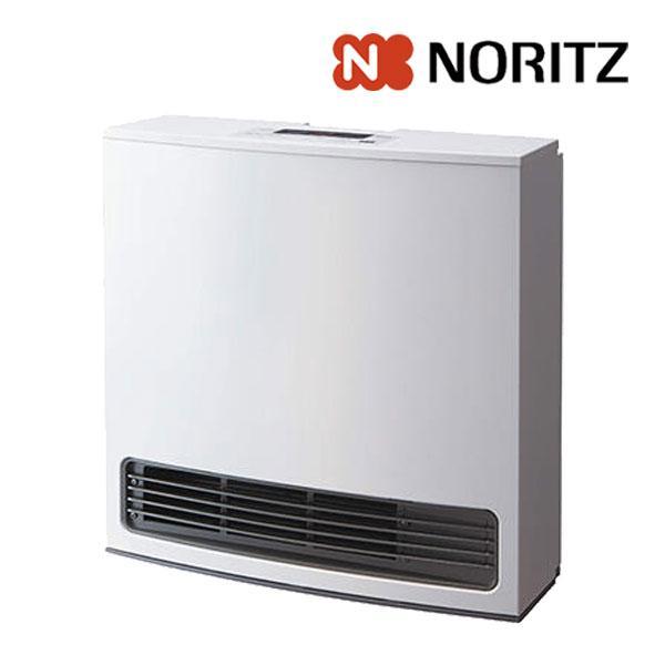 ガスファンヒーター ノーリツ GFH-4006S 都市ガス用 プロパンガス(LPガス)用 スノーホワイト ガスヒーター 暖房器具 2021年製入荷