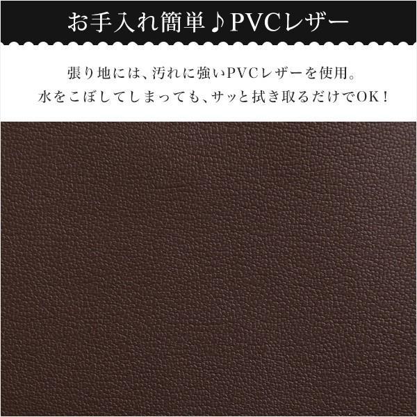 クッション2個付き、3段階リクライニングソファベッド(レザー3色)ローソファにも 日本製・完成品|Alarcon-アラルコン-|mote-kagu|06