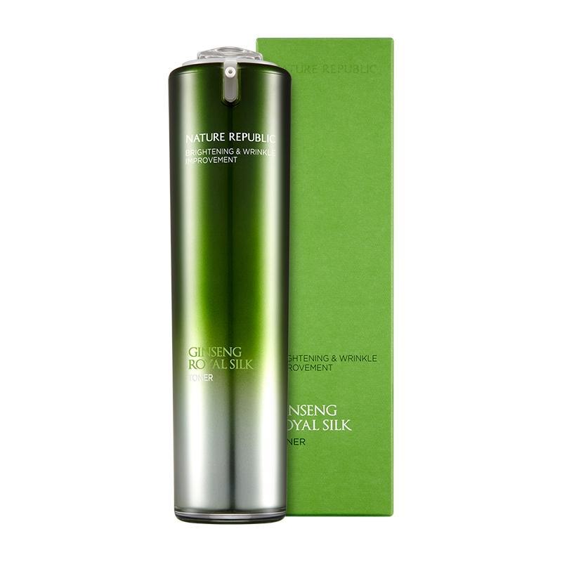 ネイチャーリパブリック ジンセンロイヤルシルクトナー  120ml 韓国コスメ 化粧水 スキンケア   NATURE REPUBLIC Ginseng Royal Silk Toner motions-shop 04