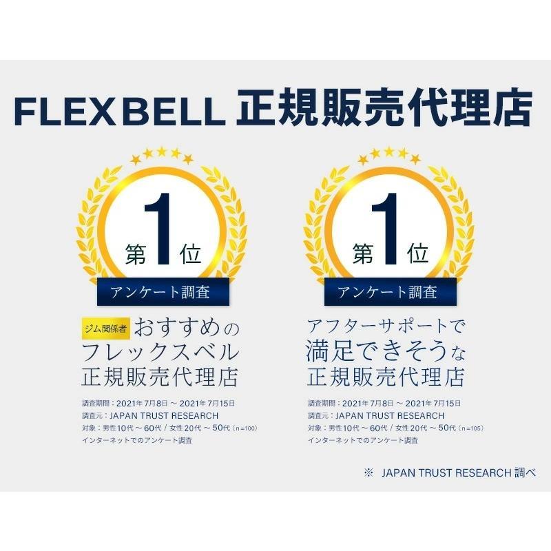 フレックスベル 2kg刻み 32kg 2個セット 新型 正規品 FLEXBELL 可変式ダンベル アジャスタブルダンベル motions-store 03