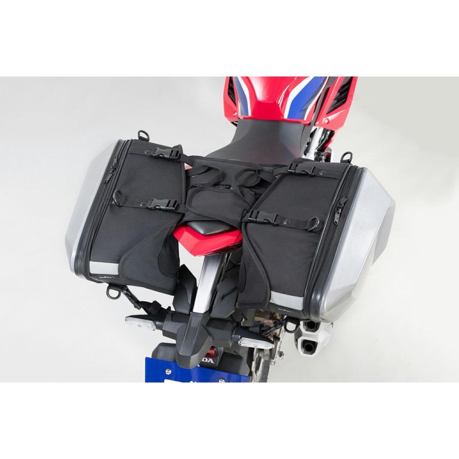 タナックス(TANAX) MOTOFIZZ サイドバッグ カービングシェルケース カーボン柄 片側16L MFK-272|moto-zoa|04