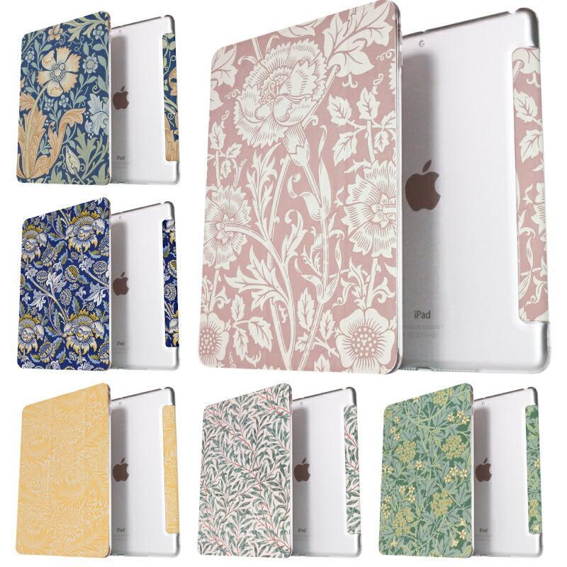 ウィリアム モリス iPad Air4 ケース ipad 第8世代 10.2インチ iPad8 mini4 第6世代 人気 9.7インチ 2018 高額売筋 9.7 可愛い mini5 2019