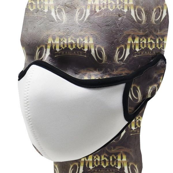 【即納!】MASCA マスカマスク 1 ネオプレンマスク ホワイト レギュラー XLサイズよりご選択 耳掛けタイプ 6層構造のWフィルター採用  motobluez-store 03
