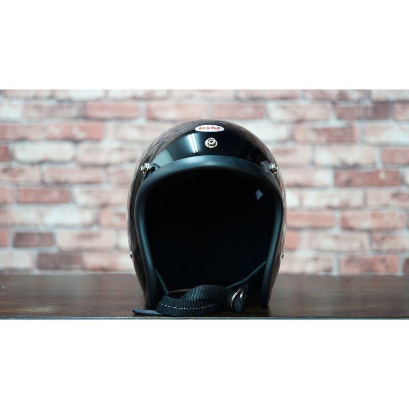 オーシャンビートル ヘルメット LAC BEETLE ブラック 2020A/W新作送料無料 OCEANBEETLE ジェットヘルメット マート L.A.C