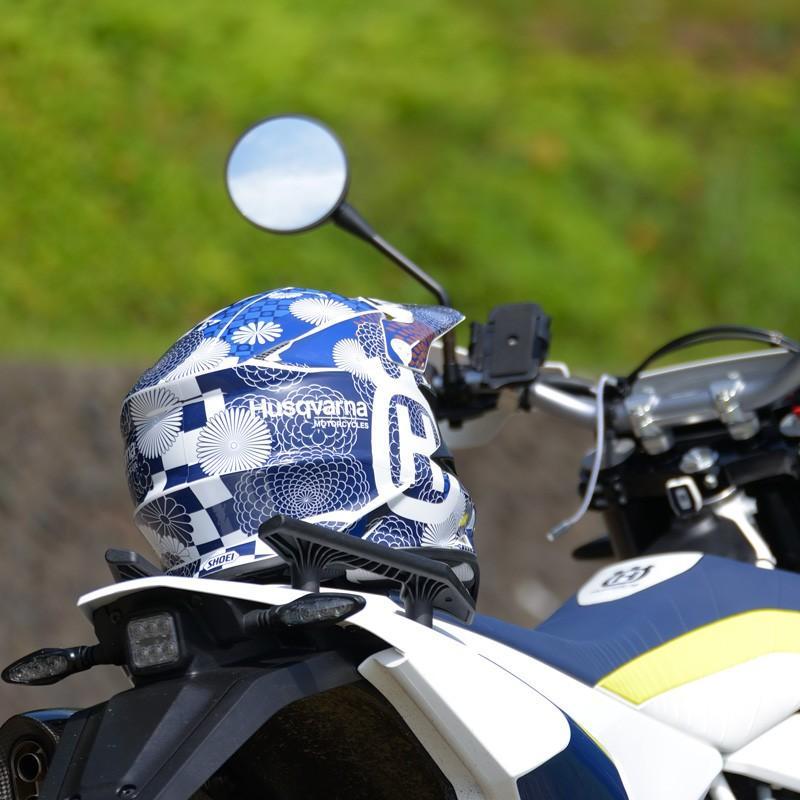 ショウエイ VFX-W VFX-WR アライ V-CROSS4 和柄 オフロードヘルメットデカール(青系)|motocrusader|04