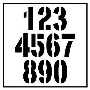 色& 数字変更OK ★ 切り文字ステッカー  0〜9 TYPE - NO.2  M/10cm   カッティングシート・シール・デカール motologo 04