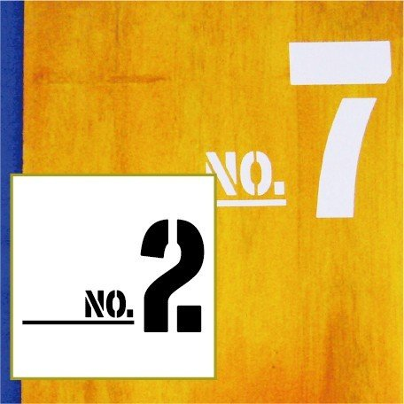 切り文字ステッカー  0〜9 色&数字変更OK    TYPE - NO.2  L/15cm   カッティングシート・シール・デカール|motologo