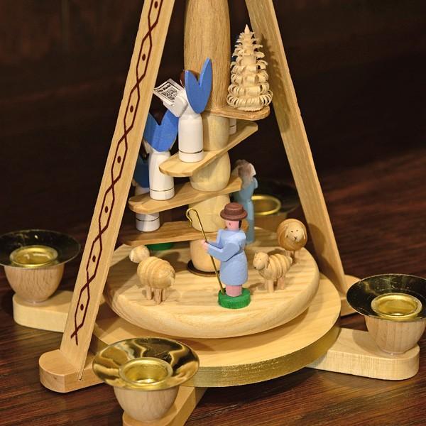 ドイツ木工芸品 ウィンドミル キリストのご降誕 天使の合唱|motomachi-takenaka|06