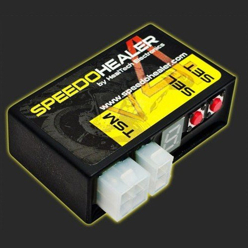 ヒールテックエレクトロニクス(Healtech Electronics) スピードヒーラーV4 YZF-R1/R6 98-10 XVロードスター 99-10 等 SH-V4+SH-Y01|motoparts