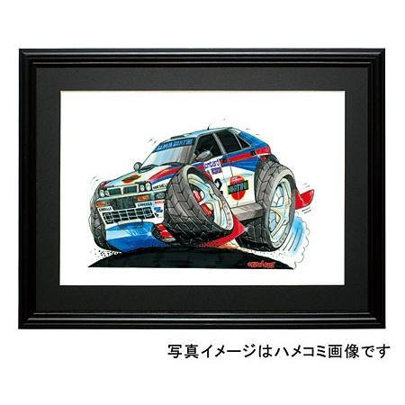 イラスト ランチア・インテグラーレ(WRC) motorparade