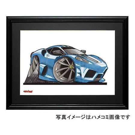 イラスト F430(スクーデリア・青) motorparade