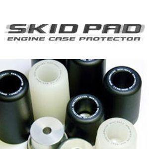 モリワキ スキッドパッド ゼファー400/χ ブラック エンジンケース プロテクター SKID PAD