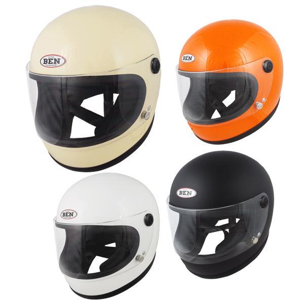 TNK工業 スピードピット B-60 NEO ビンテージ フルフェイスヘルメット BEN'60 シングルカラー