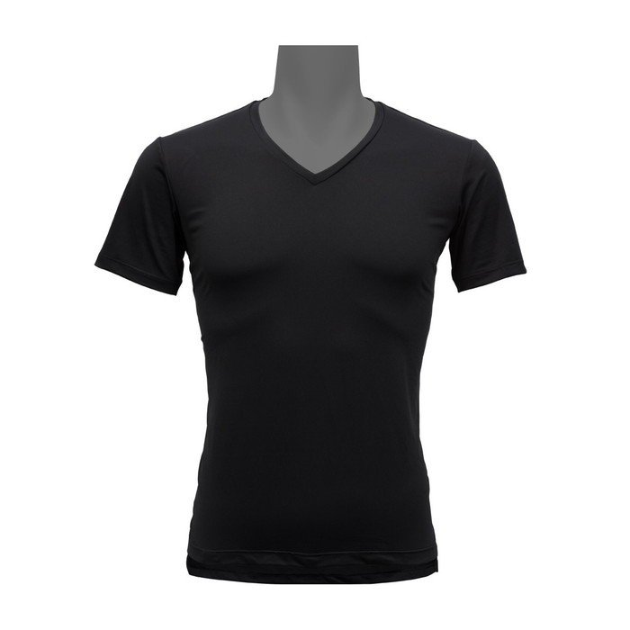 フリーズテック 氷撃 ライフスタイル 冷却インナーシャツ 半袖Vネック(ブラック) 2019-2020