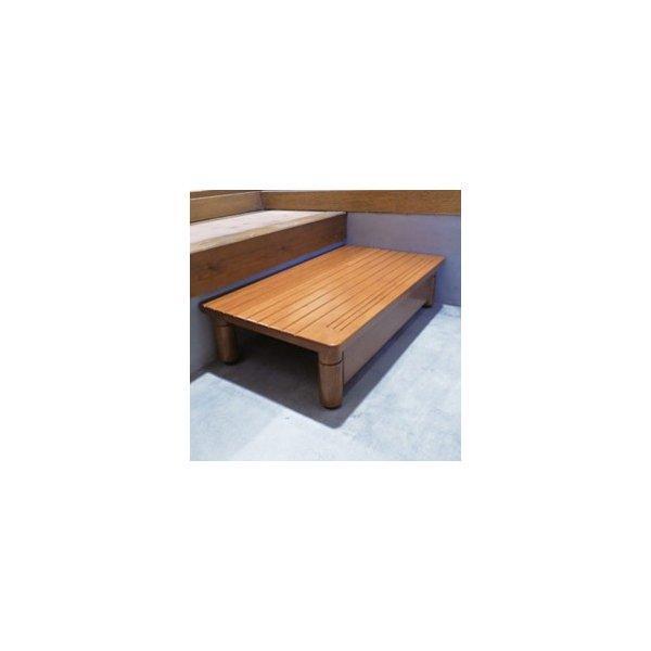 【キャッシュレス払い5%還元】 パナソニックエイジフリー 木製玄関ステップ AF-6040(幅60奥行40cm) 送料無料 送料無料 住宅改修給付対象