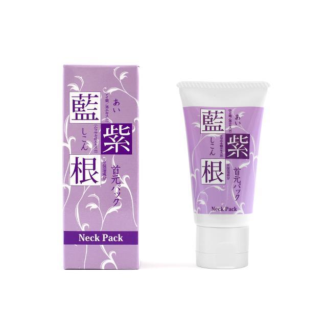 藍と紫根の首元パック  パック クリーム 首もと 首元 首筋 ボディケア シコン 化粧品 シェモア motu-play 06