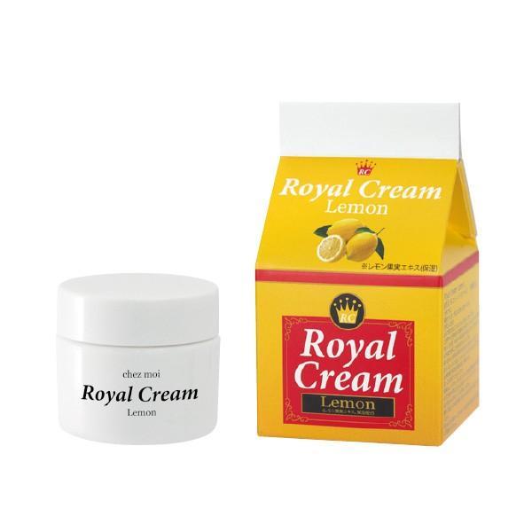 Royal Cream Lemon (ロイヤル クリーム レモン) クリーム マッサージ ジェル ゲル スキンケア 化粧品 シェモア motu-play 02