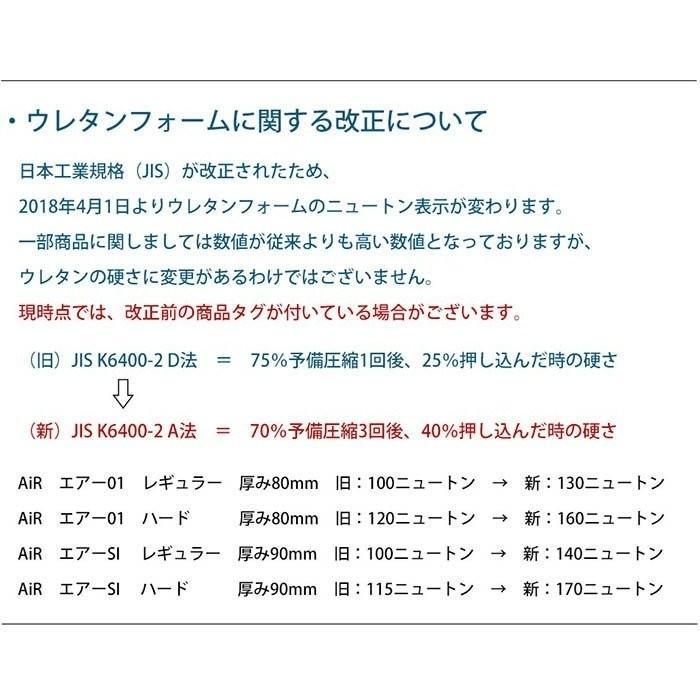 西川エアー 長身対応パーツ セミダブル 120×12cm AiR SI/SI-H マットレス専用|moufukan|07