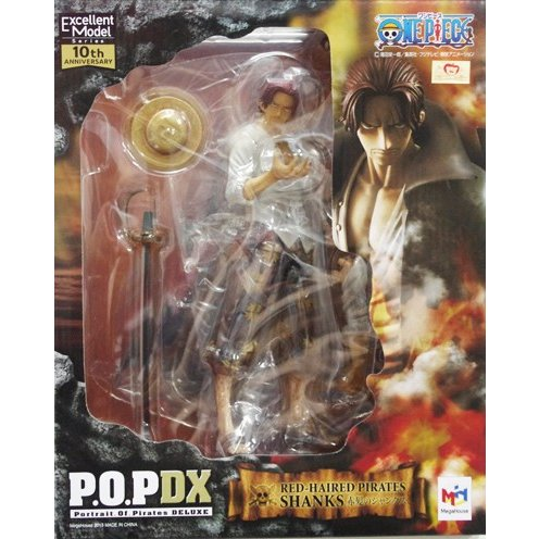 ▲ 送料無料 ワンピース Portrait.Of.Pirates NEO-DX 赤髪のシャンクス 未開封 POP メガハウス 国内正規品 ONE PIECE フィギュア