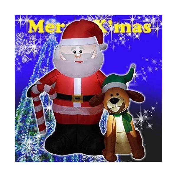 クリスマス エアーディスプレイ M ジョンとサンタ WG-3531
