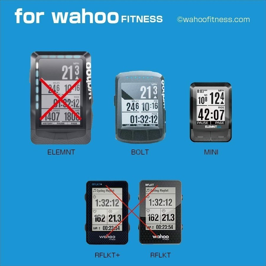 REC-MOUNTS wahoo Aero combo mount LOOK AERO for STEM 695//795 WAH2-LOOK1+GP