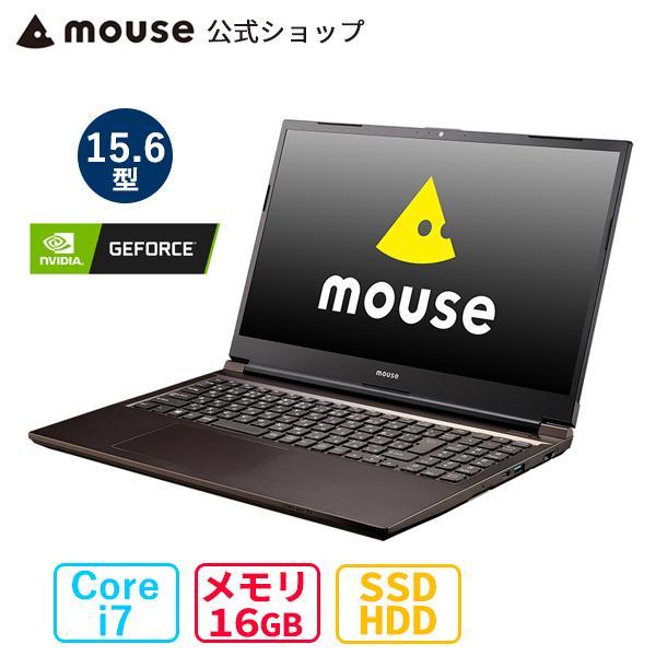 ノートパソコン 新品 15.6型 ノートPC win10 mouse K5-MA Windows 10 Core i7 256GB M.2 SSD 1TB HDD マウスコンピューター(7/7より後継機種へ変更) [399083]