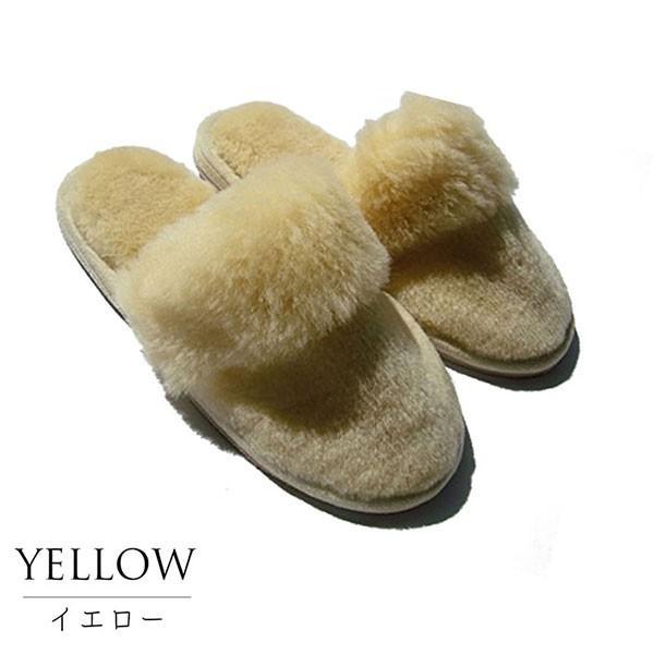 ムートンスリッパ ムートンブーツ 素足で履ける 洗える リアル天然羊毛 スリッパ あったか ルームシューズ デラックスタイプ レディース メンズ ふわふわ E800|mouton888|19